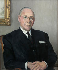 Portrait of a  Gentleman by Harry Rutherford Richard Taylor Fine Art