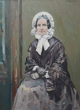 Scottish Portrait of Ruby by Henry Young Alison Richard Taylor Fine Art