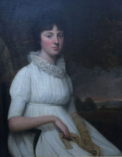 Old Master Portrait of Margaret Parker by Henry Raeburn Richard Taylor Fine Art