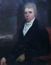 Old Master Portrait of Charles Stewart Parker by Henry Raeburn Richard Taylor Fine Art