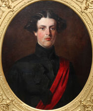 Military Portrait Hon. Brownlow by Henry Weigall Richard Taylor Fine Art