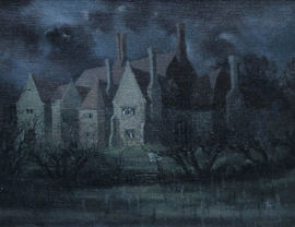 ../Laurence Henry Irving British Landscape The Dark House available at Richard Taylor Fine