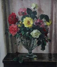 Roses Oil Painting by Herbert David Richter Richard Taylor Fine Art
