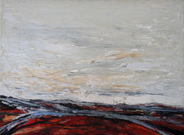 ../British Australian Abstract Landscape by Ian Henderson Richard Taylor Fine Art