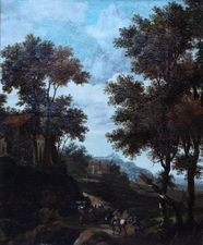 Dutch Old Master Landscape by Jacob van der Croos Richard Taylor Fine Art