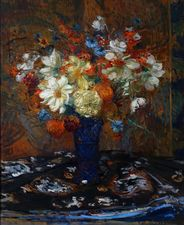 French Impressionist Floral by Jacques Emile Blanche Richard Taylor Fine Art