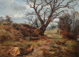 James Faed - Scottish Victorian Landscape -  Richard Taylor Fine Art