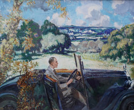 James Rankine Barlay - Malvern Drive  - Richard Taylor Fine Art