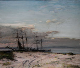 james campbell noble - the anastasia marine - richard taylor fine art