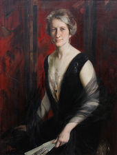 Portrait of Violet Ann Gilbert by James Peter Quinn Australian art Richard Taylor Fine Art