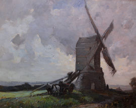 james wallace - wraby mill - lincolnshire - richard taylor fine art