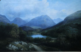 Scottish Landscape by John Knox Richard Taylor Fine Art