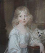 British Old Master Female Portrait by John Russell Richard Taylor Fine Art