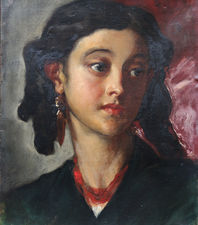 Victorian Spanish Lady by John Phillip Richard Taylor Fine Art