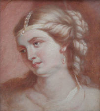 Portrait of a Lady by Sir John Watson Gordon Richard Taylor Fine Art