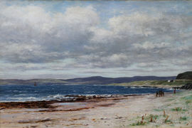 ../Kintyre from Arran Seascape by Joseph Henderson Richard Taylor Fine Art