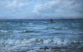 ../Joseph Henderson - Scottish Seascape - Richard Taylor Fine Art