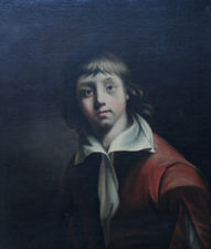 Old Master Portrait of Boy by Joseph Wright of Derby Richard Taylor Fine Art