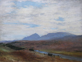 Scottish Landscape by Joseph Farquharson Richard Taylor Fine Art