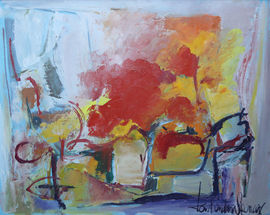 Jamaican Abstract by Kenneth Abendana Spencer Richard Taylor Fine Art