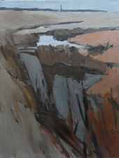 ../Abstract Essex Landscape by Lawrence Self Richard Taylor Fine Art