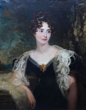 Victorian Portrait Harriet Cooper by Louis William Desanges Richard Taylor Fine Art