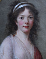 French Old Master art portrait by Elizabeth Vigee Le Brun (circle) Richard Taylor Fine Art