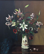 Lily Floral Arrangement by Margaret Evangeline Wilson Richard Taylor Fine Art