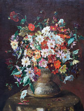 19th Century Floral by Mary Rischgitz Richard Taylor Fine Art