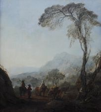 The Resting Place Dutch Old Master Landscape by Adam Pynacker Richard Taylor Fine Art