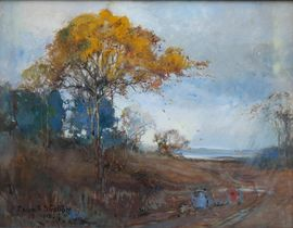 Impressionist Scottish Landscape by Philip Eustace Stretton  Richard Taylor Fine Art