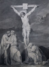 sara troost - the crucifixtion of jesus - female artist - dutch old master richard taylor fine art