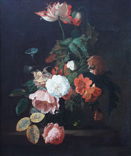 Dutch Golden Age Still Life Flowers by Simon Pietersz Verelst Richard Taylor Fine Art
