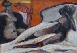 Female Nudes by Sir Robin Philipson at Richard Taylor Fine Art