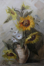 stanley grimm -sunflowers -richard taylor fine art (1)