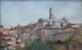 Sienna Italy by Susan Isabel Dacre Suffragette Richard Taylor Fine Art