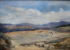 Spanish Landscape by Susan Isabel Dacre Suffragette Richard Taylor Fine Art
