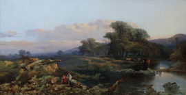 Thomas Edwards  - British Victorian Landscape - Richard Taylor Fine Art