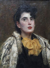 ../Victorian Female Portrait by Ursula Wood Richard Taylor Fine Art
