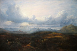 Stirling from the East by Waller Hugh Paton Richard Taylor Fine Art