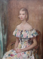 Impressionist Portrait by Walter Ernest Webster Richard Taylor Fine Art
