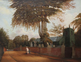../Edgbaston Church by William Bromley Richard Taylor Fine Art