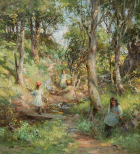 Bluebell Wood by William Stewart MacGeorge Richard Taylor Fine Art