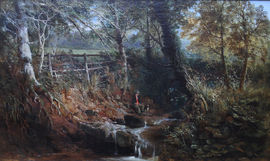 Somerset Landscape by William E Jones  Richard Taylor Fine Art
