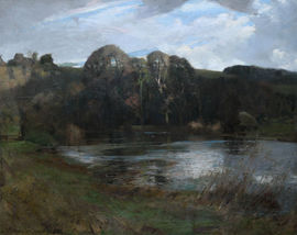 River Landscape Arun Sussex  by William Thomas Wood Richard Taylor Fine Art